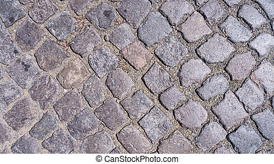 cobble stone - old fashioned cobble stone background