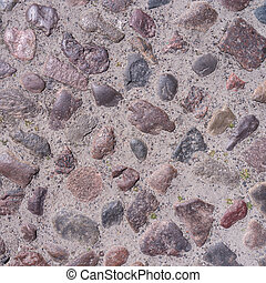 cobble stone - very old cobble stone background