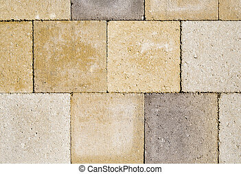 Close up image of cobble stones