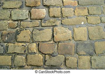 Cobbled Street - Cobbled street detail