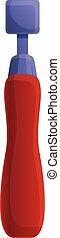 Cobbler repair tool icon, cartoon style - Cobbler repair ...