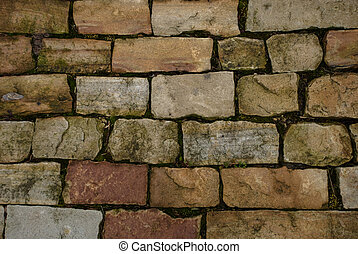 cobbles - Cobbled stone floor. Textured background
