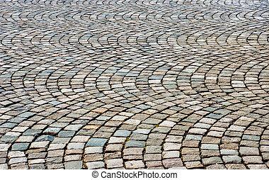 cobblestone, baggrund
