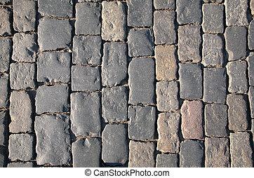 cobblestone, straat