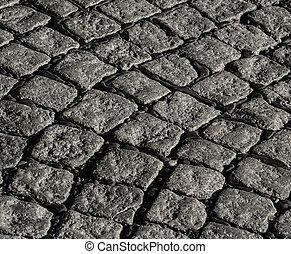 cobblestone, struktúra