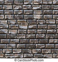 Cobblestone Texture - Seamless cobblestone path that works...
