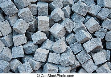Cobblestones - Pile of cobblestones