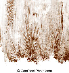 coberto, óleo, superfície, pintura