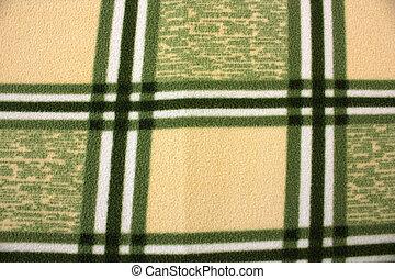 cobertor, xadrez, fundo