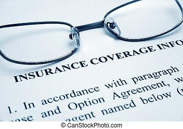 cobertura de seguro