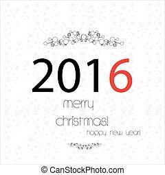 cobertura, feliz, ano, novo, natal, feliz