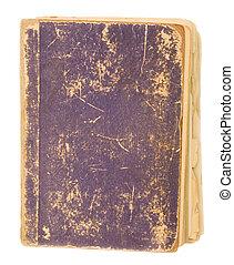 cobertura, livro, antigas, em branco