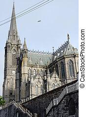 cobh, catedral, en, corcho, irlanda