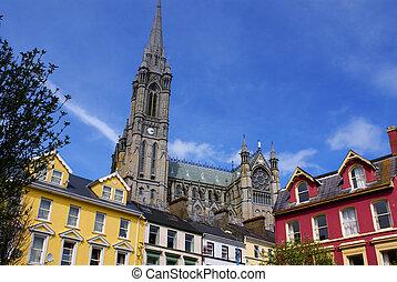 cobh, st. 。, アイルランド, 新ゴート語, colman's, 大聖堂, 南