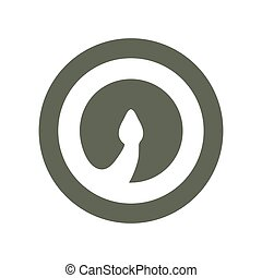 Cobra Snake head volume logo minimalism Vector design template elements for your application or corporate identity