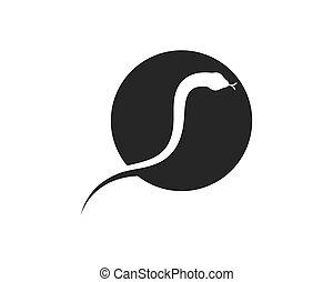 cobra snake vector illustration icon