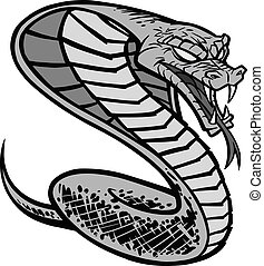 Cobra Tattoo Illustration