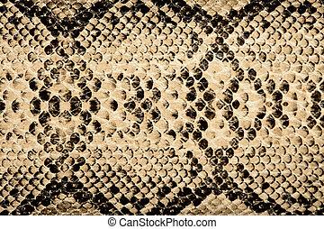 cobra, textura