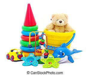 cobrança, brinquedos