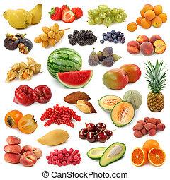 cobrança, frutas