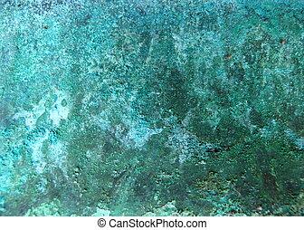 cobre, corrosión, metal
