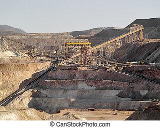 cobre, extracción