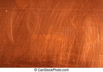 cobre, imagem, fundo