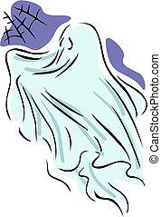 cobwebby, fantasma, ático