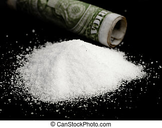 cocaína, dólar