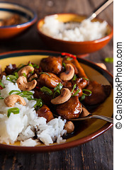Coca cola chicken dish