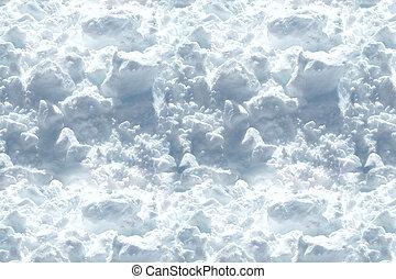 Pure white cocaine illegal drug powder background