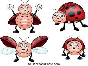 coccinella, cartone animato