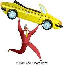 coche, éxito