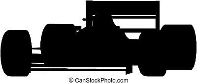 coche, 1, carreras, fórmula
