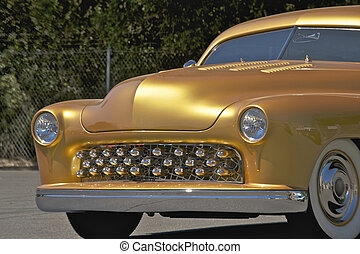 coche, 1949, oro, costumbre