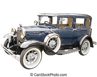 coche, antiguo, 03