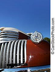 coche clásico, detalles