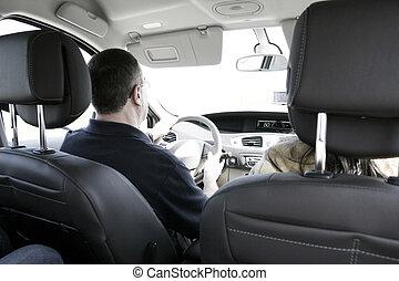 coche, conductor