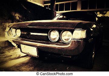 coche de la vendimia
