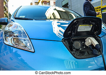 coche, eléctrico
