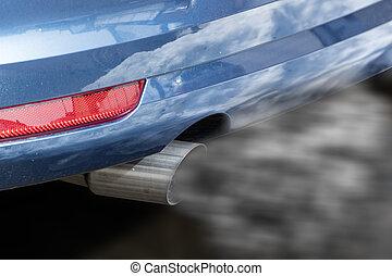 coche, escape