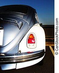coche, europeo, clásico