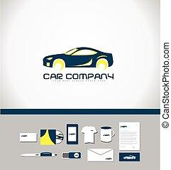 coche, logotipo