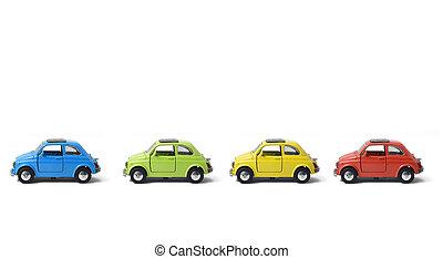 coche, metal
