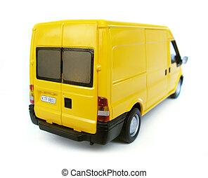 coche modelo, -, furgoneta