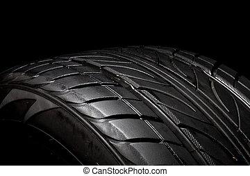 coche, neumático