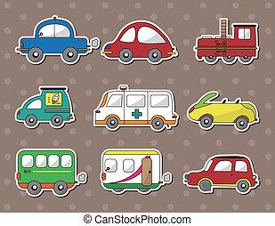 coche, pegatinas