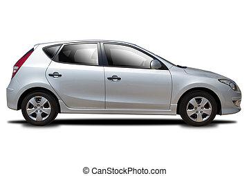 coche, plata