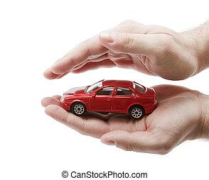 coche, protección