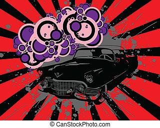 coche, viejo